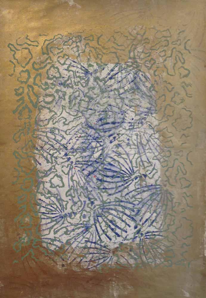 Licht | Walzendruck | 2005 | 30 x 41 cm