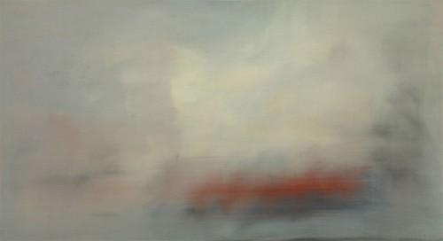 02 | Red under White | ÖL/LW | 110 x 200 cm | 2017