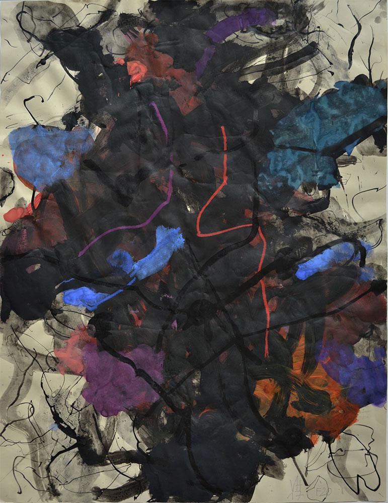 04 | F20 | 2017 |indische Tusche, Tempera auf Ingres Bütten | 63  x 49 cm