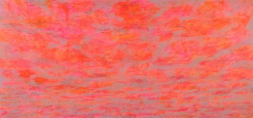 06 | Pink Evening | ÖL/LW | 140 x 300 cm | 2015