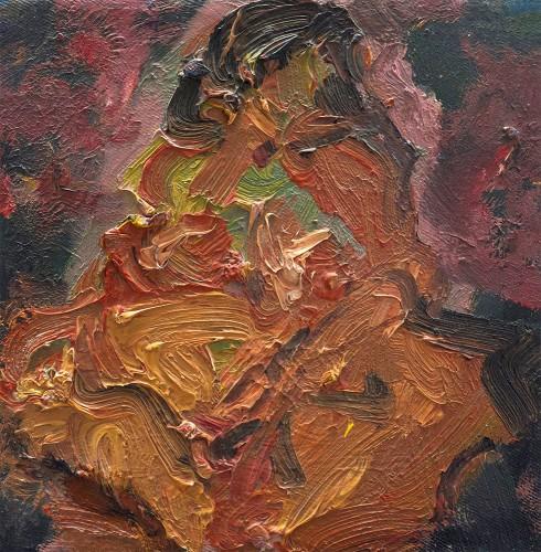 07 | Mood | Öl/LW | 20 x 20 cm | 2014