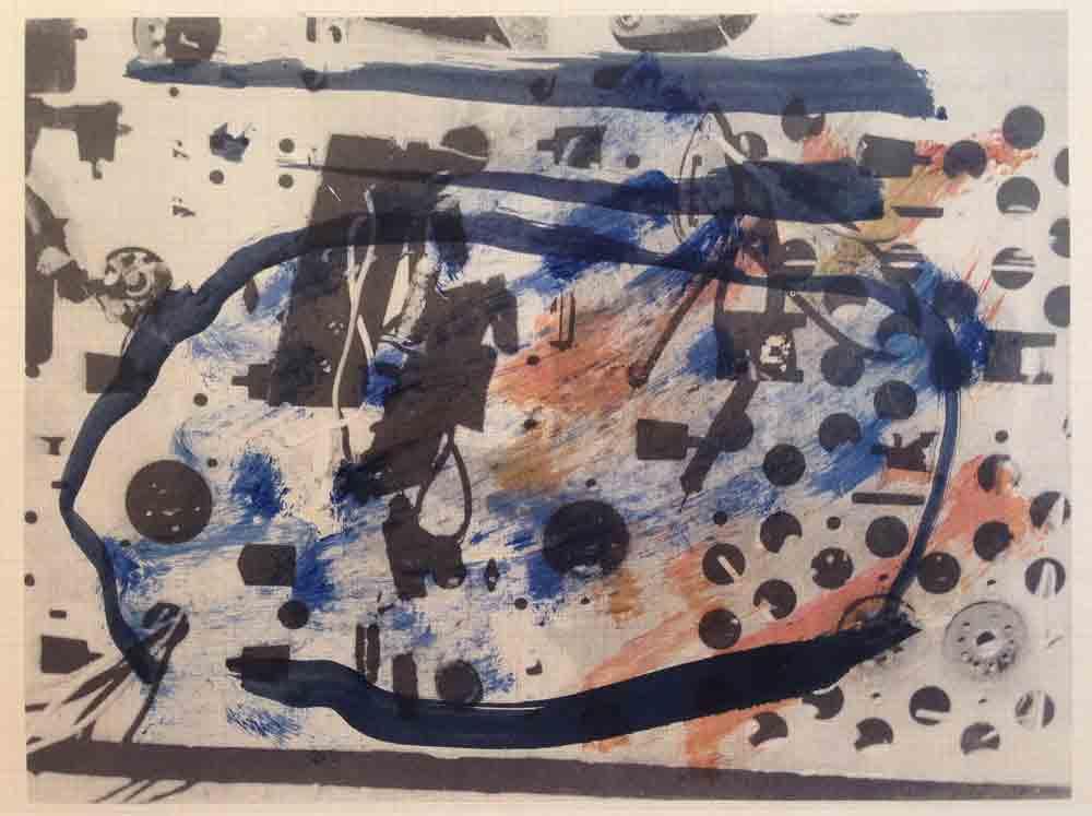 Schaltkreis (17) | Walzendruck | 2012 | 30 x 21 cm