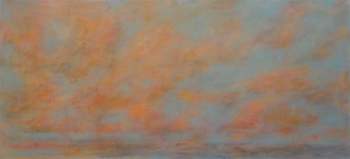 08 | Abend | ÖL/LW | 100 x 195 cm | 2017