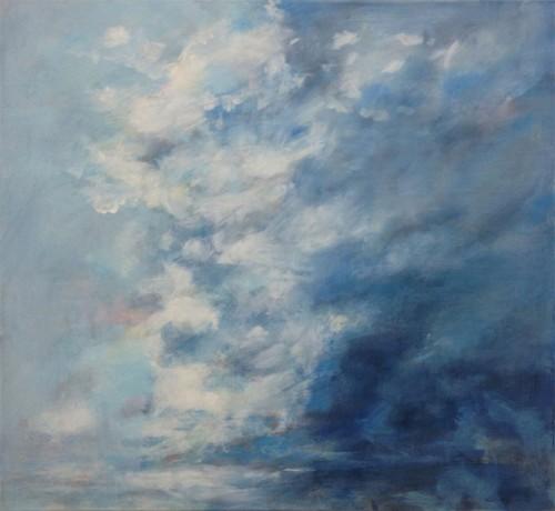 10 | Cloud | ÖL/LW | 110 x 120 cm | 2017