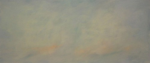 13 | Two Clouds | ÖL/LW | 95 x 220 cm | 2017