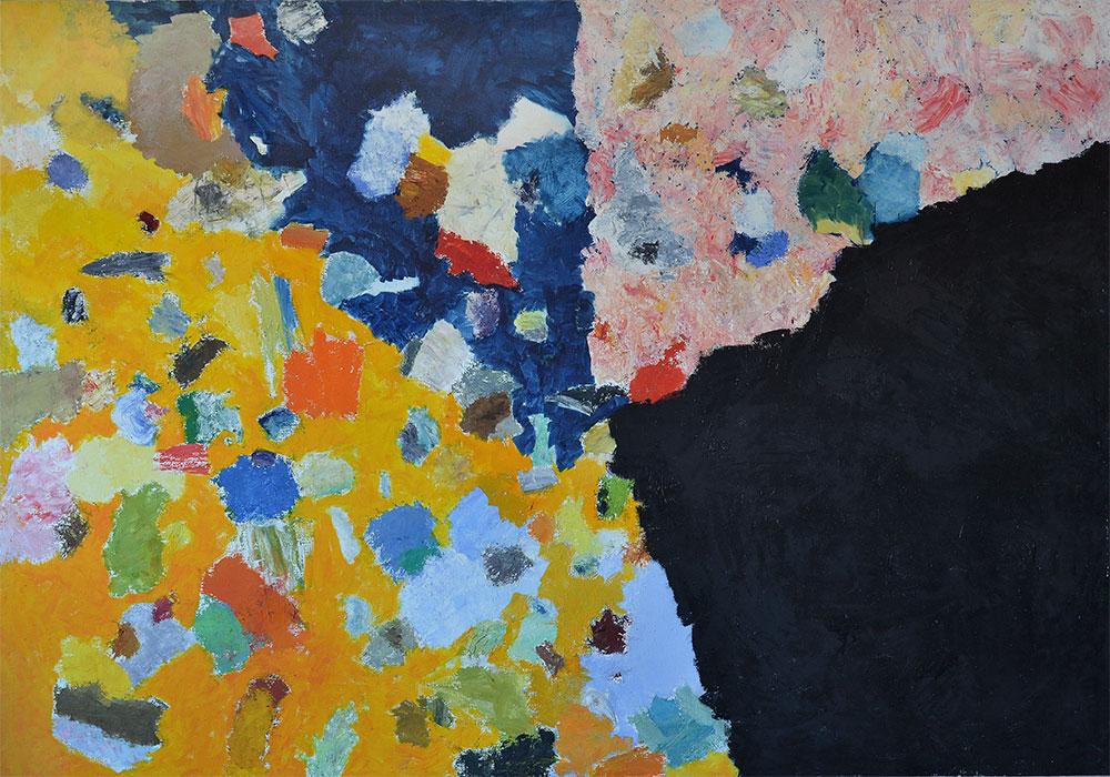 14 | Für F.R. | 2004 | Öl auf Leinwand | 200 x 380 cm