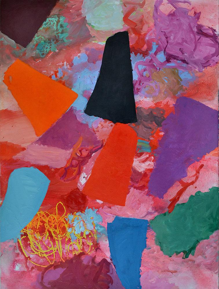 15 | 8 Formen | 2013 | Öl auf Leinwand | 165 x 120 cm