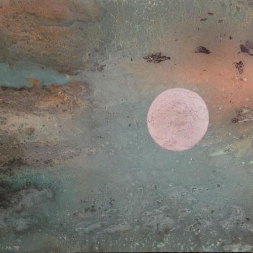 Ita Maximowna | Mond III | 51 x 48 cm | Mischtechnik | 1979