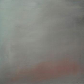 """baby blue"" (2017) 72 x 82 cm"