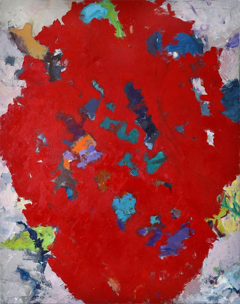 19  | R.F. | 2015 | Öl auf Leinwand | 140 x 119 cm