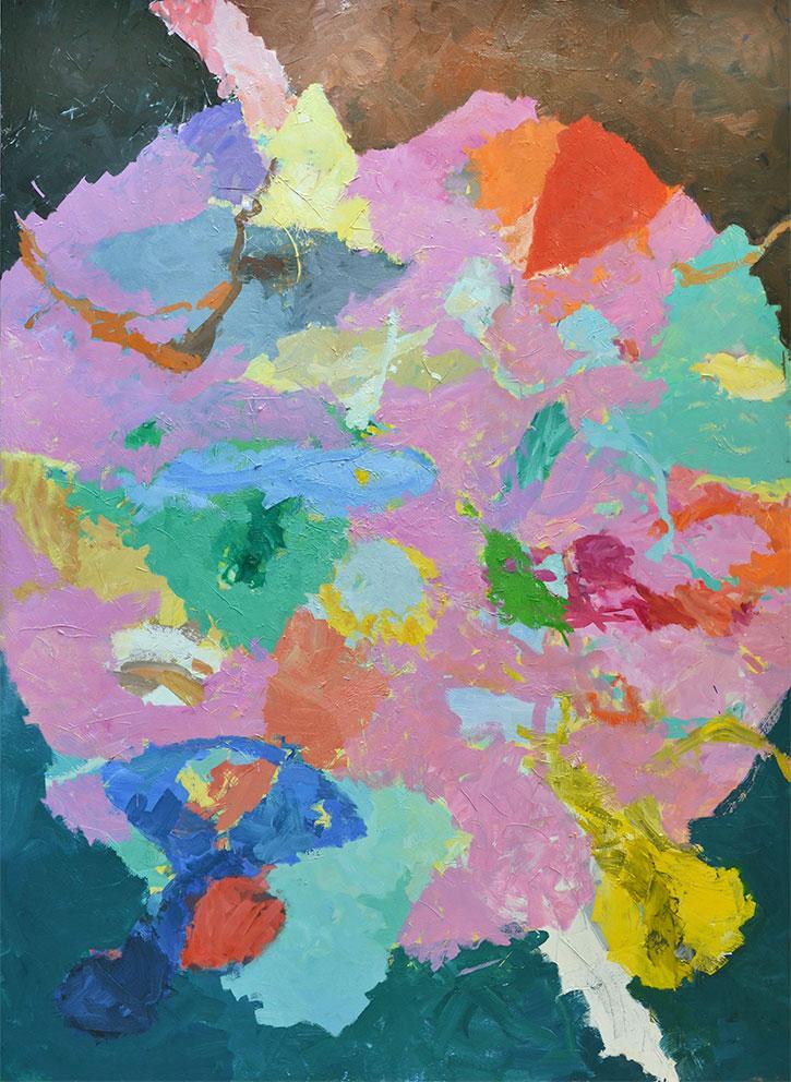 24  | G.P. | 2016 | Öl auf Leinwand | 200  x 145 cm | gerahmt