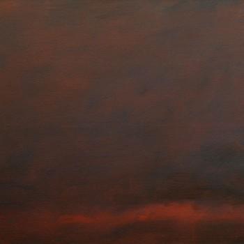 """""""red"""" (2017) 95 x 220 cm"""