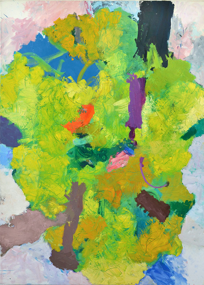 25  | I.G. | 2016 | Öl auf Leinwand | 200  x  140 cm