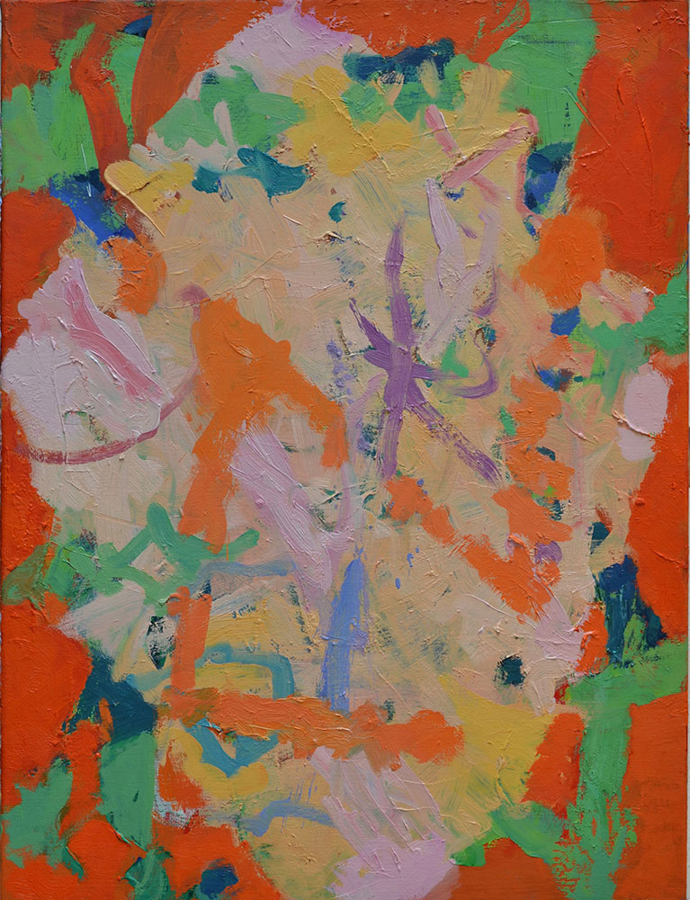 29  | G.S. | 2016 | Öl auf Leinwand | 75  x 57 cm