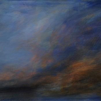 """""""sailing"""" (2016) 90 x 200 cm"""