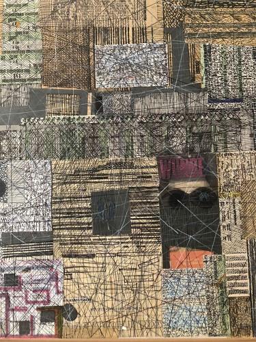 05 | Wunder | Überzeichnung | 60 x 60 cm | 2005