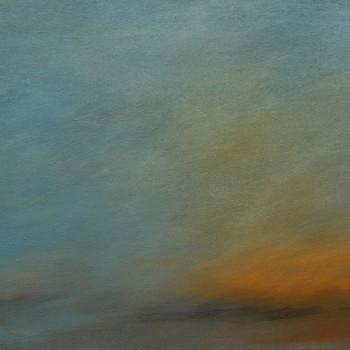 """""""abend"""" (2016) 80 x 150 cm"""