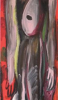 BlumeMensch-III, 2013, 150 x 30