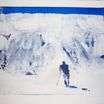 Der Berg ruft, 2015, Lithografie