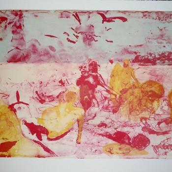 Ein Sommer der bleibt, B 2015, Lithografie