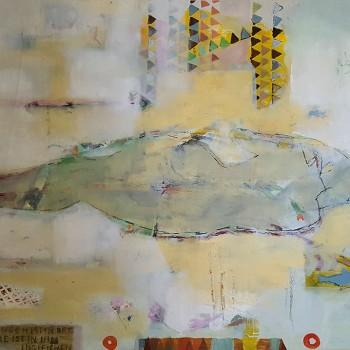 """""""Liegender Akt (1)"""", Öl/Lw, 2016, H 63, B 90"""