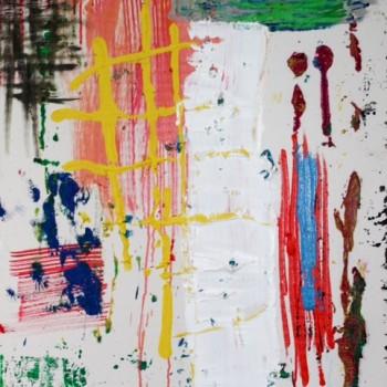 """Ohne Titel"" Öl, Leinwand  80 x 60 cm 2014"